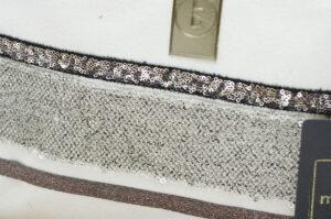Pochette trousse de maquillage fait main en Coton Bio