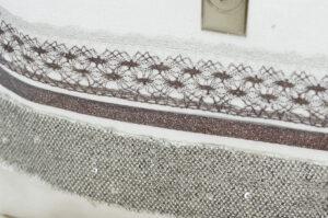 Pochette trousse de toilette fait main en Coton Bio