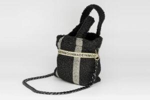 Mini Bag En Bouclette Noire Modèle Célestine